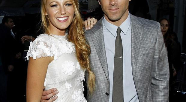 Newlyweds Blake Lively and Ryan Reynolds are not expecting their first child yet