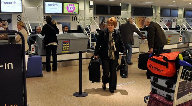 Flights to and from Birmingham International Airport were temporarily suspended