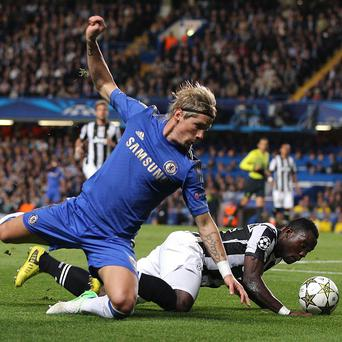 Fernando Torres, left, has been backed by Roberto Di Matteo