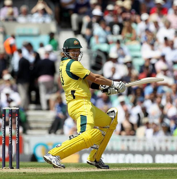 Shane Watson's impressive all-round display helped Australia defeat Ireland