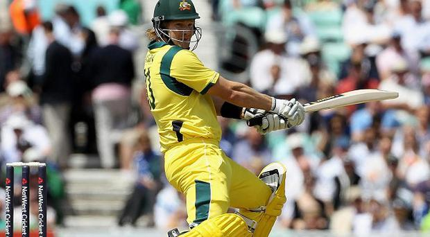 Shane Watson 'shaken' after being hit on the head