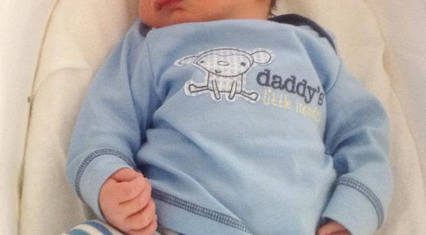 Lee Sofley and Andrea Porter from Dromore, Co Down are celebrating the birth of their first child together – Ethan James Sofley. <p><b>To send us your Baby Pics <a href=