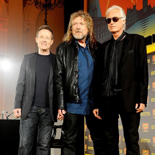 Led Zeppelin reunited to launch their new film Celebration Day