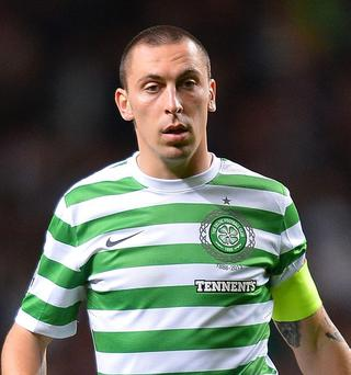 Injured: Scott Brown is faced with a fitness battle