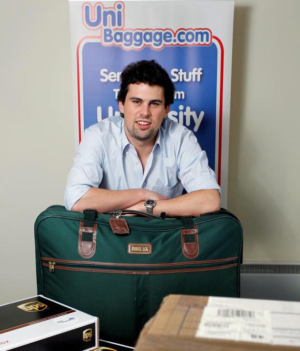 Paul Stewart, director of Uni Baggage