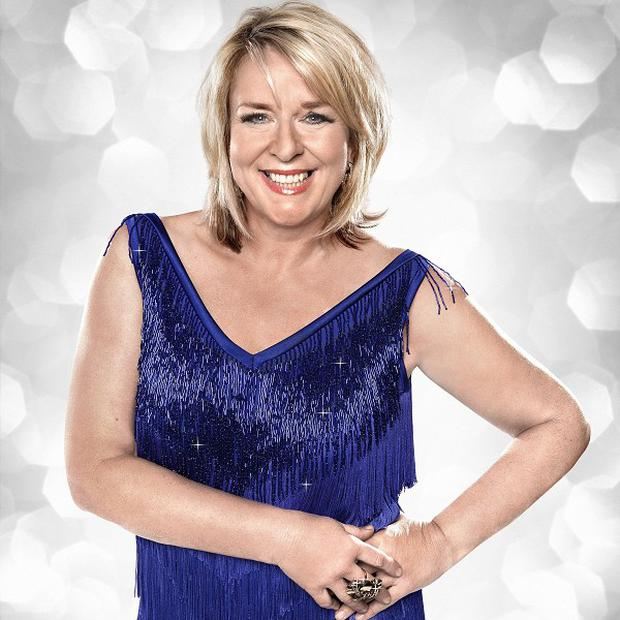 Fern Britton's fake tan is not to husband Phil Vickery's liking