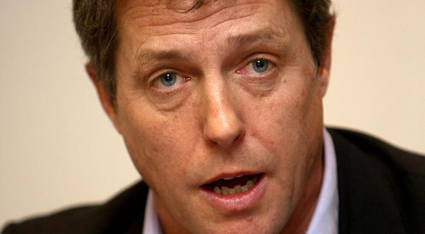Hugh Grant may not be a fan of marriage himself, but he still supports everyone's right to get wed