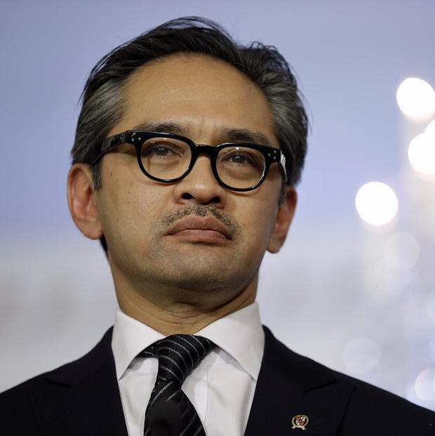 Marty Natalegawa wants an accord among Association of South-east Asian Nations members (AP/Jacquelyn Martin)