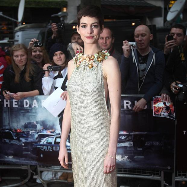 Anne Hathaway could be starring in Steven Spielberg film Robopocalypse