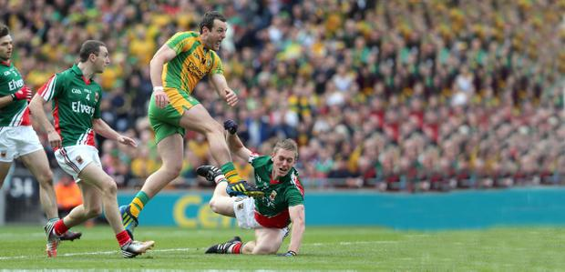 Michael Murphy stamped his class on the big game for Donegal