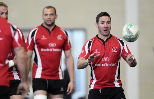 Paddy Wallace is back in contention for Ulster
