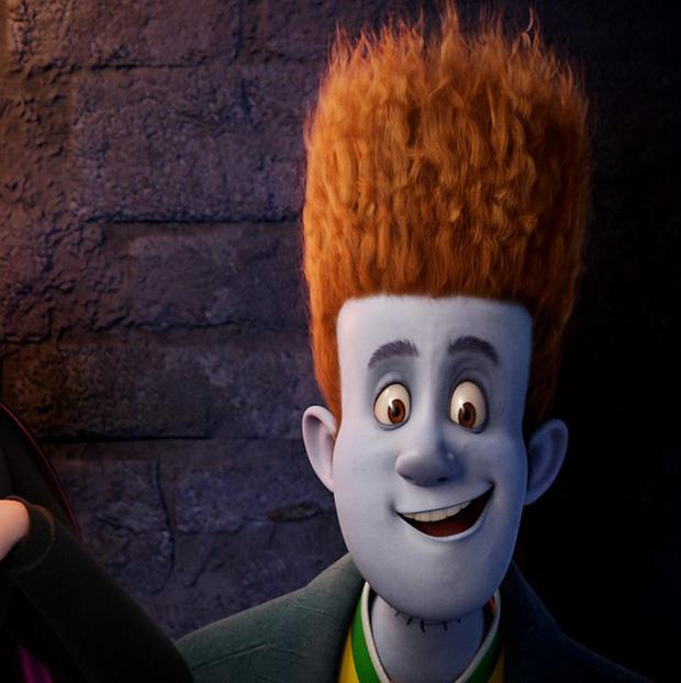 Andy Samberg voices Johnnystein in Hotel Transylvania