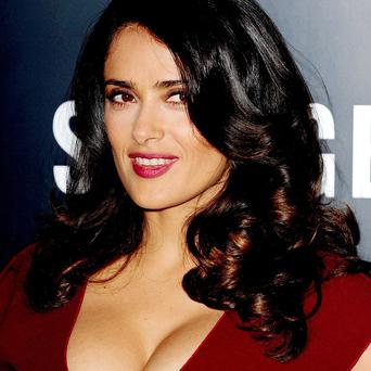 Salma Hayek said getting work as a Mexican actress has been tough