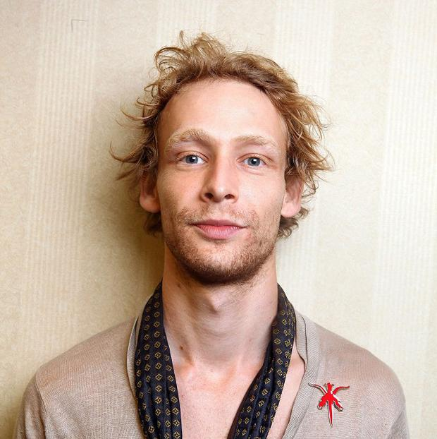Actor Johnny Lewis is the only suspect in the death of 81-year-old Catherine Davis (AP/Carlo Allegri)