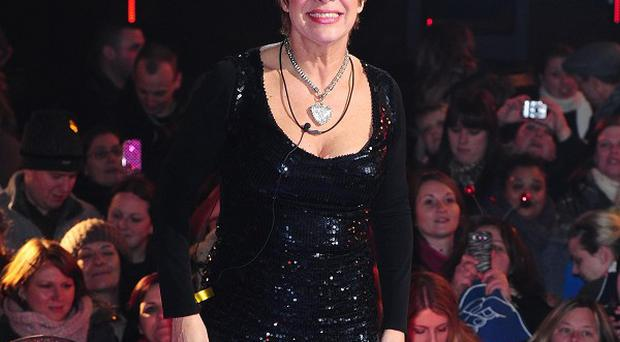 Denise Welch was filmed by fiance Lincoln Townley