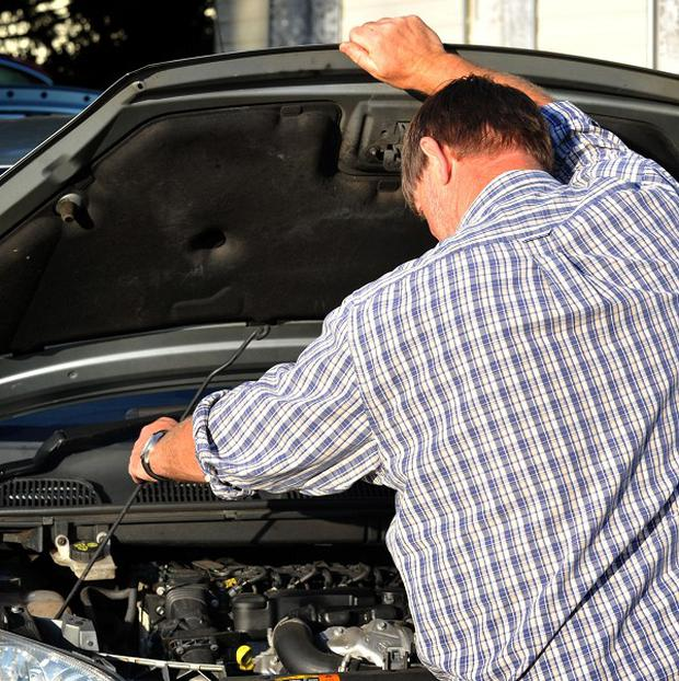 A poll found that seven in 10 drivers struggled with tasks such as checking oil levels