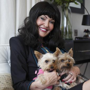 Hilary Devey will run the shop in Hotel GB