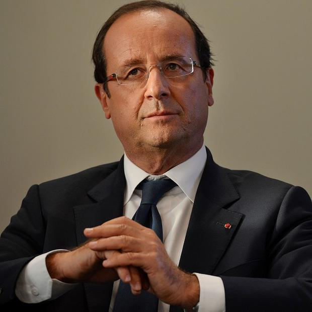 Socialist president Francois Hollande is raising taxes on top earners in a bid to slash the country's deficit