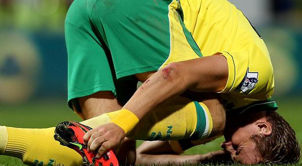 Harry Kane sustained the injury against Doncaster