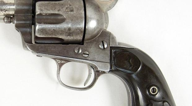 A Colt revolver that belonged to Butch Cassidy (AP/RMK Services)