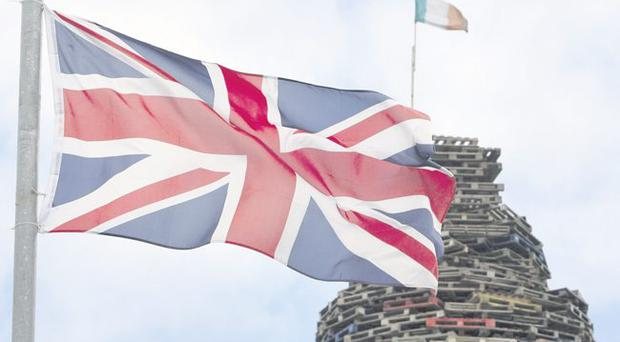 Flagging up the future: a lot has changed for unionists and nationalists since Sir Edward Carson signed the 1912 Covenant