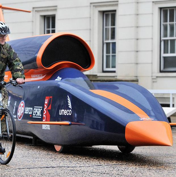 Bloodhound SSC Car Hopes To Blast Through Records And
