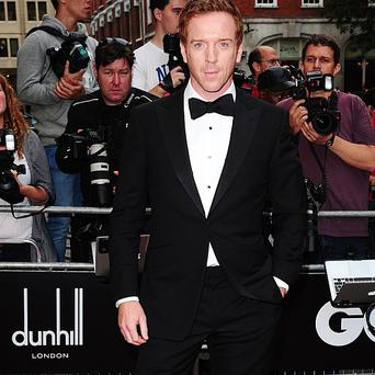Damian Lewis plays a former hostage in Homeland