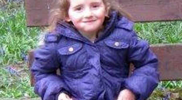 Handout photo issued by Dyfed-Powys Police of April Jones in the coat she was wearing when she was abducted