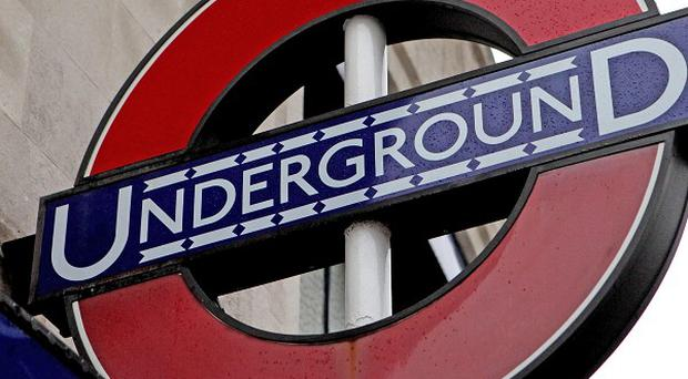 A girl aged 12 has been taken to hospital after being struck by a rush hour Tube train