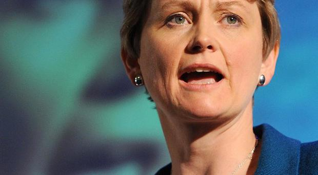 Shadow home secretary Yvette Cooper will vow to defend the founding principles of the police against privatisation