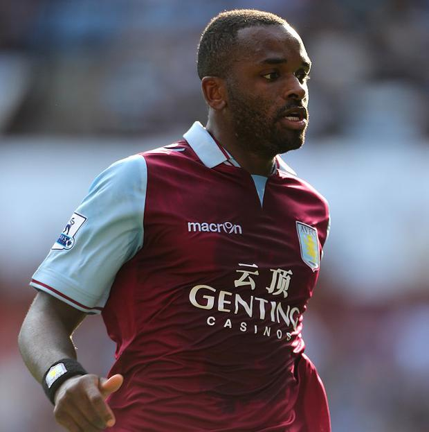 Darren Bent started Villa's match against West Brom on the bench