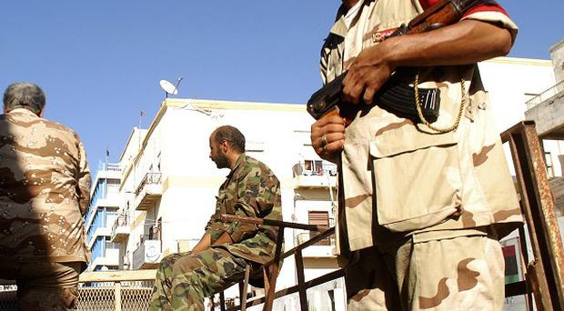 Bani Walid is one of the last major pockets of support for the former Gaddafi regime in Libya (AP)