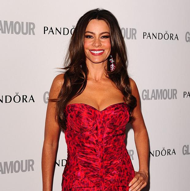 Sofia Vergara's dress split at this year's Emmys