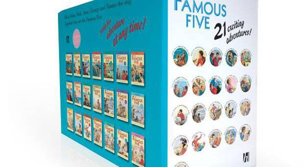 <b>1. Famous Five Classic 21 book box set £29.99, amazon.co.uk</b><br/> Transport little ones into a world of adventure with Enid Blyton's books. With lovely artwork, this is perfect to pass down to generations.