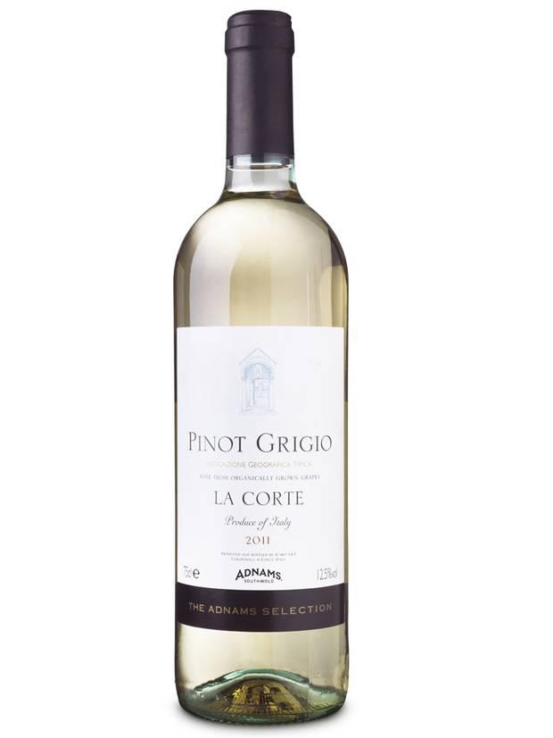 <b>1. The Adnams Selection Pinot Grigio 'La Corte'</b><br/> <b>£8.99, cellarandkitchen.adnams.co.uk</b><br/> A clean, fresh and lively palate and finishes on a twist of citrus. A treat with mushroom risotto
