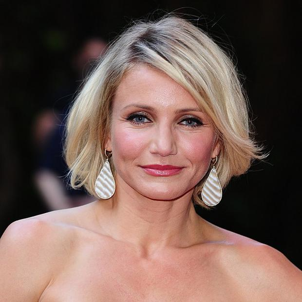 Cameron Diaz says she's feeling happier than ever before