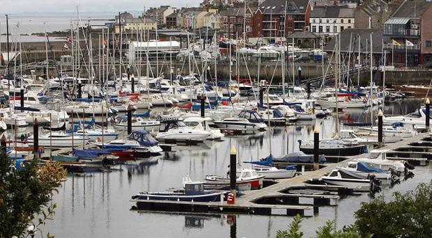 An inquest heard how a 70-year-old man drowned after falling into Bangor Marina