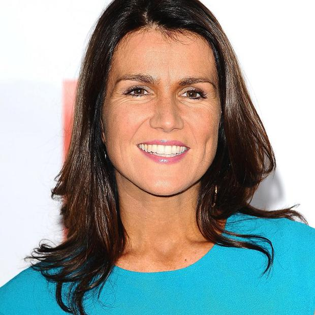 Susanna Reid was hosting BBC One's Breakfast show when the four-letter word was broadcast