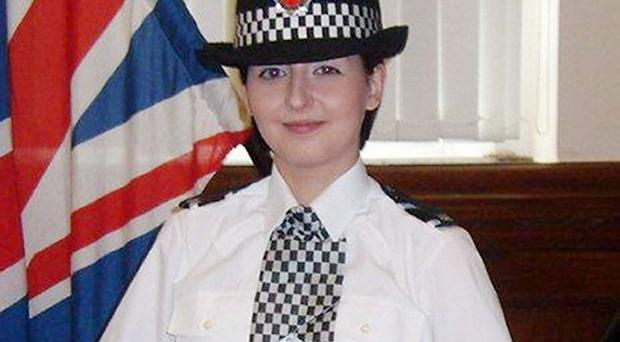 The funeral of Pc Nicola Hughes has taken place at Manchester Cathedral