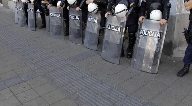 ASerbian police have banned a Gay Pride march in capital Belgrade (AP)