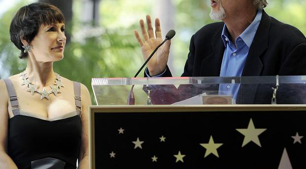 Director James Cameron made a speech in honour of producer Gale Anne Hurd