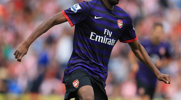 Abou Diaby is facing a spell on the sidelines