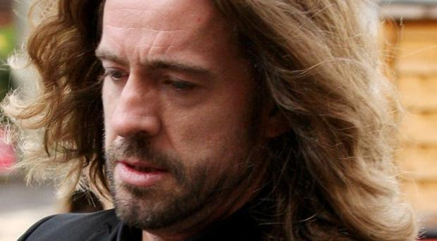 Justin Lee Collins told the jury he was in 'meltdown' as his relationship floundered