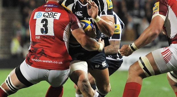 Andy Powell, centre, has avoided suspension