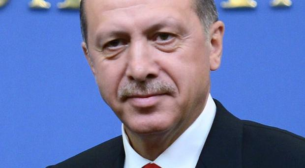 Turkish Prime Ministerr Recep Tayyip Erdogan has insisted his country does not want to go to war with Syria (AP)