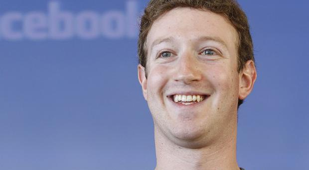 Facebook CEO Mark Zuckerberg says the social networking site has more than one billion active users (AP)