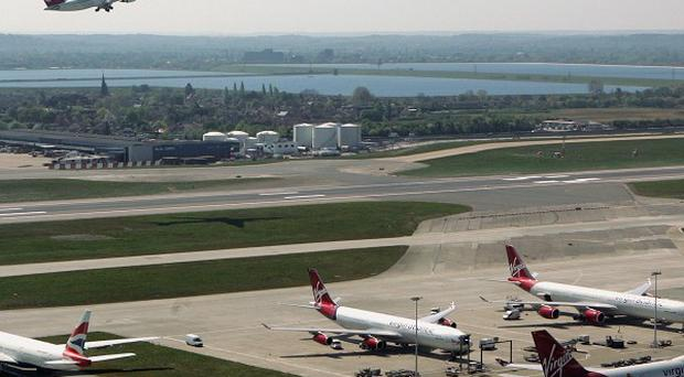 A four-runway airport at Heathrow is needed to show Britain is 'open for business', a think tank has said