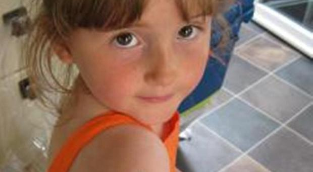 April Jones, five, went missing in Machynlleth, mid Wales, on Monday evening (Dyfed-Powys Police/PA)