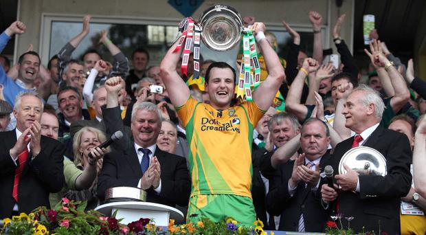 Donegal captain Michael Murphy will lead his side into battle against Tyrone in their first outing in next year's Ulster Championship
