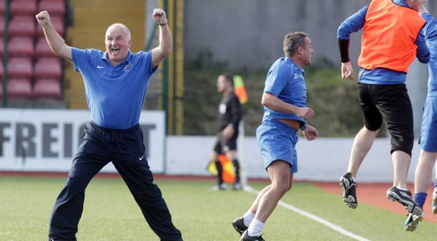 Whitey Anderson's Ballinamallard United are loving life in the Danske Bank Premiership
